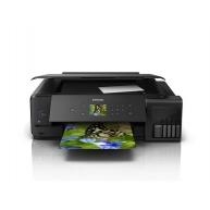 EPSON tiskárna ink L7180, 3in1,A3, 1440x5760 dpi, 28 ppm, 1200x2400 scan dpi, CIS, Wi-Fi, USB, Ethernet