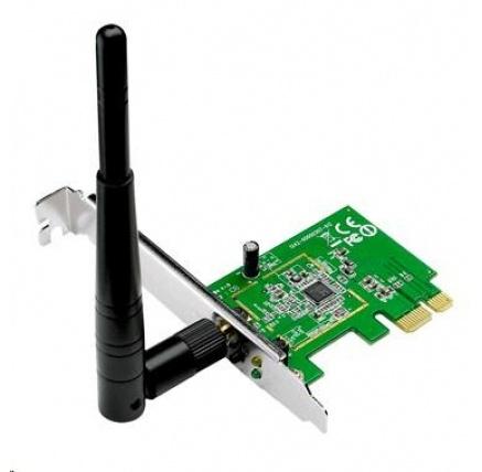 ASUS PCE-N10 vB Wireless N150 PCI-Express card, 802.11n, 150Mb/s