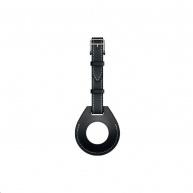 COTEetCI kožené pouzdro na zavazadla H-series pro Apple AirTag, černá