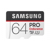 Samsung micro SDXC karta 64GB PRO Endurance + SD adaptér