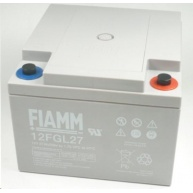 Baterie - Fiamm 12 FGL27 (12V/27Ah), životnost 10let