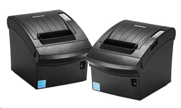 BIXOLON/Samsung SRP-350III pokladní termotiskárna, USB, černá, řezačka, zdroj