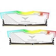 DIMM DDR4 8GB 2666MHz, CL15, (KIT 2x4GB), TEAM T-FORCE Delta RGB (White)