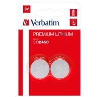 VERBATIM Lithium baterie CR2450 3V 2 Pack