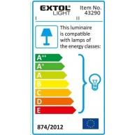 Extol Light světlo závěsné se svorkou  43290