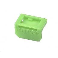 SMARTKEEPER Mini Mini DisplayPort Lock 10 - 10x záslepka, zelená