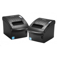 BIXOLON/Samsung SRP-350III pokladní termotiskárna, USB/RS232, černá, řezačka, zdroj