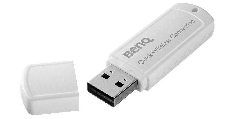 BENQ Accesssories wifi modul k bezdrátovému připojení projektoru (WDS01+ WDRT8192)