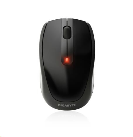 GIGABYTE Myš Mouse GM-M7580, Wireless, Optical, USB mini receiver, 1000/500 dpi