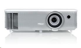 Optoma projektor W344 (DLP, FULL 3D, WXGA, 3 100 ANSI, 22000:1,HDMI, VGA, USB Power, 2W speaker)