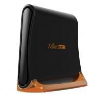 MikroTik hAP mini (tower), 650MHz CPU, 32MB RAM, 3 xLAN, integr. 2.4GHz Wi-Fi, WPS, vč. L4