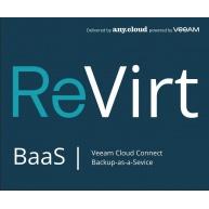 ReVirt BaaS | Veeam Cloud Connect License (1VM/1M)