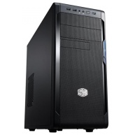 case Cooler Master miditower series N300, ATX,black, USB3.0, bez zdroje