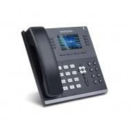 "Sangoma IP telefon S505, 4x SIP, 1000 Mbps, PoE, 3,5"" barevný displej"