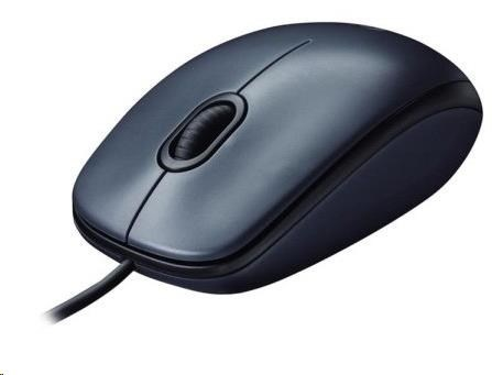 Logitech Mouse M100, grey