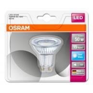 OSRAM LED STAR PAR16 120° 4,3W 840 GU10 350lm 4000K (CRI 80) 15000h A+ (Krabička 1ks)