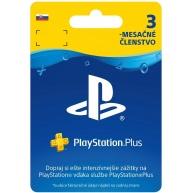 SONY PlayStation Plus Card Hang 90 dní (SK)