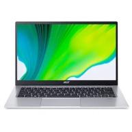 """ACER NTB Swift 1 (SF114-34-P6ZJ) - 14"""" IPS FHD,Pentium Silver N6000,4GB,128SSD,UHD Graphics,W10H S,Stříbrná"""