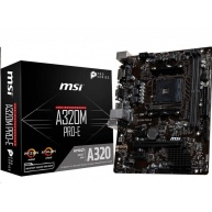 MSI MB Sc AM4 A320M PRO-E, AMD A320, VGA, 2xDDR4, m-ATX