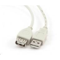 GEMBIRD Kabel USB 2.0 A-A prodlužovací 0,75m