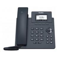 "Yealink SIP-T30P IP telefon, 2,3"" 132x64 grafický, 2x RJ45 10/100, PoE, 1x SIP, s adaptérem"