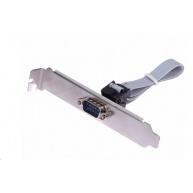 Záslepka 1x sériový port (bracket Canon 9M, RS232, COM), 400mm pro MB