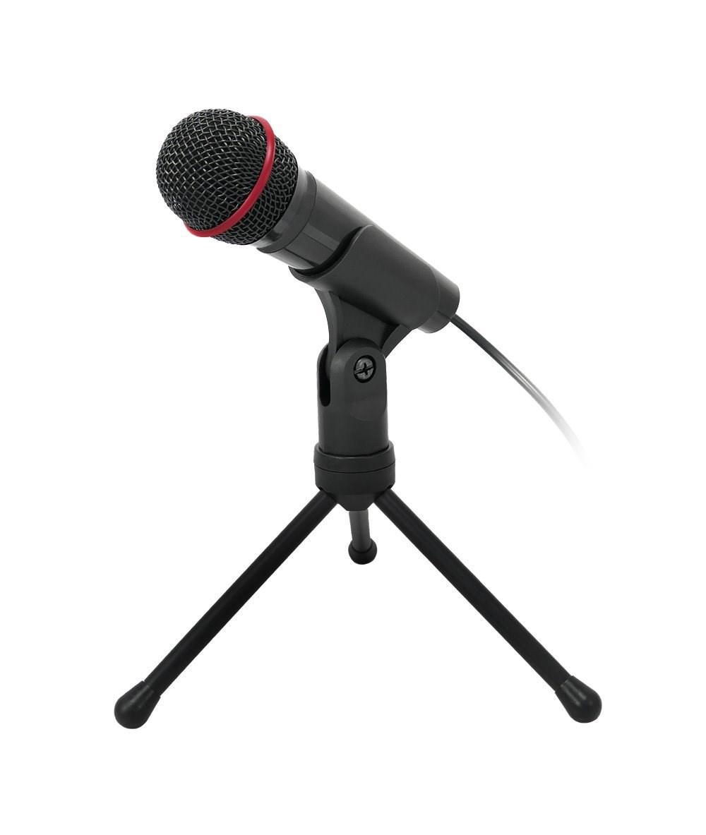 """C-TECH stolní mikrofon  MIC-01, 3,5"""" stereo jack, 2.5m"""