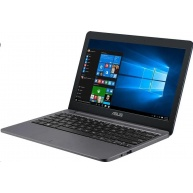 "ASUS VivoBook E12 E203MA - N4000@1.1GHz,11.6"" HD,4GB,64GB eMMC,intelHD,noDVD,USB-C, W10,šedá"