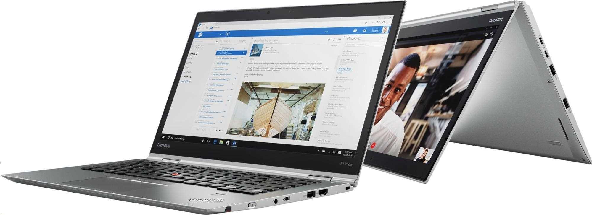 """LENOVO TP X1 Yoga 3rd 14"""" touch HDR 2560x1440 IPS, i7-8550U,16GB,512SSD,UHD620,LTE,W10P,stříbrný,3r on-site"""