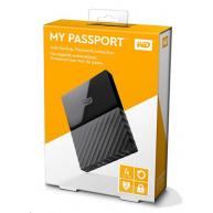 """WD My Passport 4TB Ext, 2,5"""" USB3.0, BLACK"""
