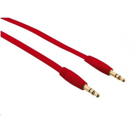 TRUST Kabel audio 3.5 jack Flat Audio Cable 1M - červený