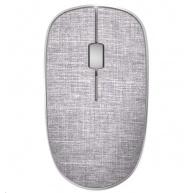 RAPOO myš M200 Plus Multi-mode bezdrátová myš s textilním potahem, šedá