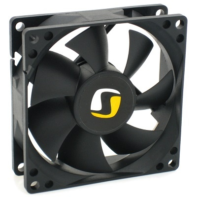 SilentiumPC přídavný ventilátor Mistral 80/ 80mm fan/ ultratichý