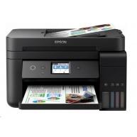 EPSON tiskárna ink L6190, 4in1, CIS, A4, 33ppm, 4ink, USB, Wi-Fi, Ethernet, LCD touch-panel, 3 roky záruka po registraci