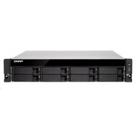 QNAP TS-877XU-RP-2600-8G (6C/Ryzen5 2600/3,4-3,9GHz/8GBRAM/8xSATA/2xSFP+/2xGbE/4xUSB3.0/2xUSB3.1//4xPCIe/RP)