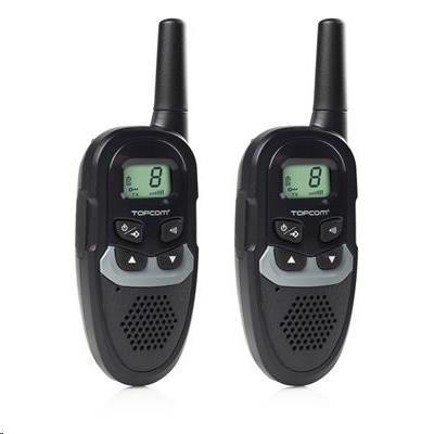 Topcom RC-6410 Twintalker, Souprava 2 vysílaček, dosah až do 6 km
