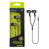 PLUS stereo sluchátka EM108, 3,5 mm jack, šedá