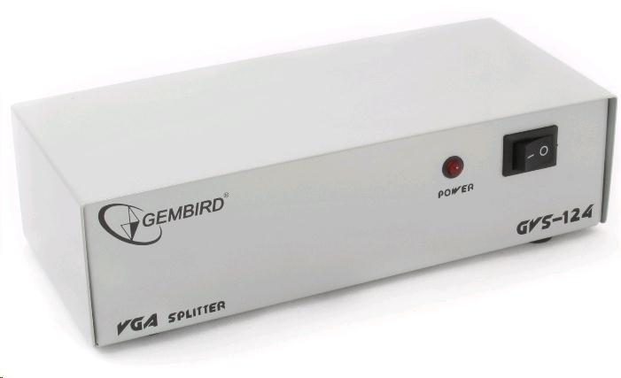 GEMBIRD VGA rozbočovač (splitter) 4 porty