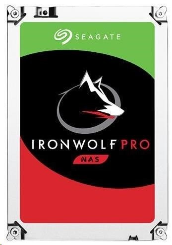 SEAGATE HDD IRONWOLF PRO (NAS) 2TB SATAIII/600, 7200rpm, 128MB cache