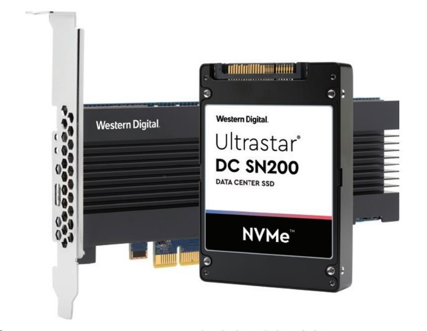 Western Digital Ultrastar (HUSMR7619BHP3Y1) DC SN200 HH-HL 1920GB PCIe MLC RI 15NM