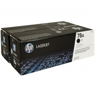 HP 78A Black 2-pack LJ Toner Cart, 2 x 2 100 str, CE278AD