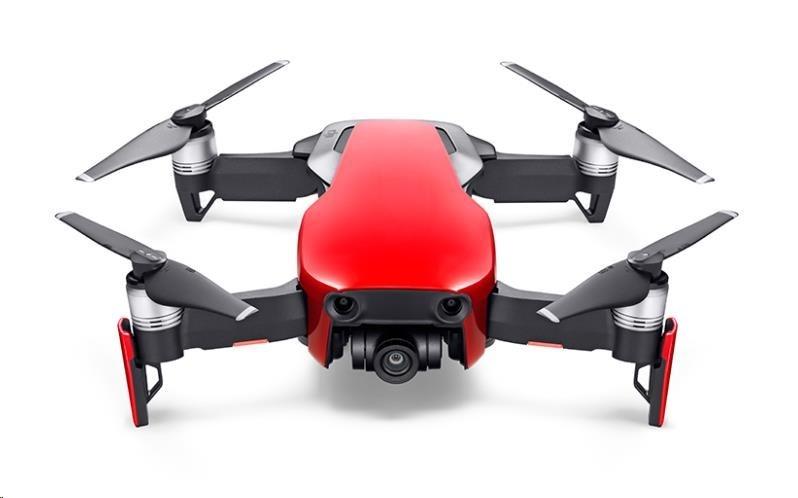 DJI dron MAVIC AIR Fly More Combo Onyx Flame Red - kvadrokoptéra