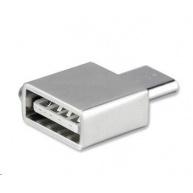 4smarts OTG adaptér USB-C > USB, stříbrná