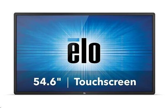 "ELO dotykový monitor5551L 55"" IDS 4K 01-Series Infrared 10-touch USB rámeček Gray"