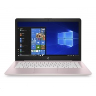 """HP NTB 14-ds0007nc, 14"""" HD TN, A4-9120e dual, 4GB DDR4, 64GB eMMC, AMD Graphics,  Win10 Pink"""