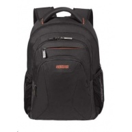 "Samsonite American Tourister AT WORK lapt. backpack 13,3"" - 14.1"" Black/orange"