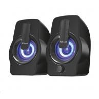 TRUST Gemi RGB 2.0 Speaker Set - černý