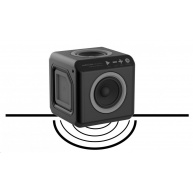 Allocacoc Audiocube Portable black