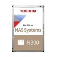 "TOSHIBA HDD N300 NAS 14TB, SATA III, 7200 rpm, 256MB cache, 3,5"""