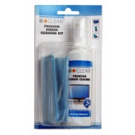DCLEAN Premium Screen Cleaner (125ml + microfibre wipe 20x20cm)